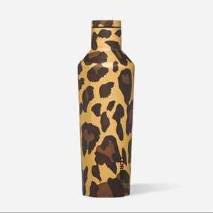 CORKCICLE NWT LUXE LEOPARD CANTEEN